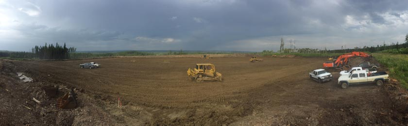 oilfield job site